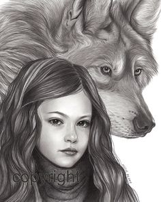 Renesmee Breaking Dawn Part 2 Pencil Drawing, Twilight Saga, Celebrity Portrait, Wolf, Black and White Twilight Jacob, Twilight Wolf, Twilight Series, Twilight Movie, Jacob And Renesmee, Twilight Renesmee, Pencil Drawings, My Drawings, 2 Pencil