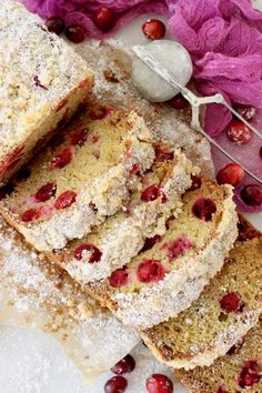 Quick and Easy Cranberry Bread Recipe with Ricotta and Olive Oil