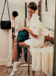 Linda Evangelista for Perry Ellis, 1989