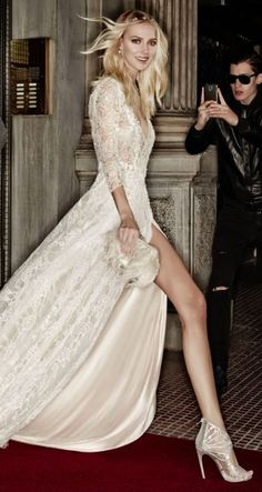 Wedding dress idea; via Victoria Kyriakides