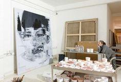 jenny saville art studio