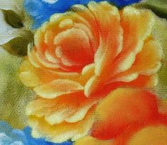 Pintura em Tecido Passo a Passo Com Fotos: Passo a Passo das Rosas