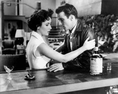 Elizabeth Taylor and Montgomery Clift - A Place in the Sun 1951