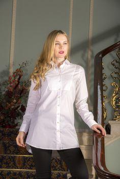 Saffron - Perfekcija Shirts Perfect White Shirt Dress