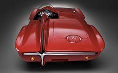 Plymouth XNR Concept Car, 1960  Virgil Exner  www.en.wikipedia.org/wiki/Virgil_Exner  via fubiz.net    for #form