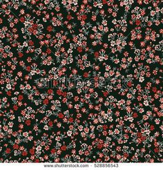 Simple cute pattern in small-scale flowers of maiden pink. Dianthus millefleurs. Liberty style. Floral seamless background for dress, manufacturing, wallpapers, print, gift wrap and scrapbooking.