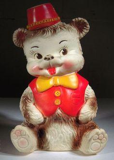 Vintage rubber squeak toy, Arrow Rubber Co