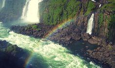 Another fine rainbow at Iguazu