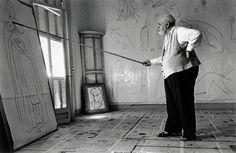 Robert Capa, 'Henri Matisse in his studio. Nice, France.', 1949