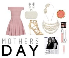 """""""Mothers Day"""" by katyelange on Polyvore featuring interior, interiors, interior design, home, home decor, interior decorating, Alexander McQueen, Sergio Rossi, Sasha and Christian Dior"""