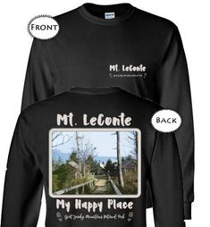7fb83155f31 Graphics Inspire T-Shirt - Mt. LeConte My Happy Place Great Smoky Mountains  National