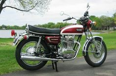 Yamaha XS 650 1972 XS2  Brilliant Red