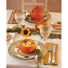 Villeroy & Boch French Garden Fleurence Dinnerware - contemporary - Dining Room - New York - Villeroy & Boch Orange Dinnerware, Orange Dinner Plates, Contemporary Dinnerware, Boston, Thanksgiving Tablescapes, Happy Thanksgiving, Holiday Centerpieces, French Cottage, Garden Table