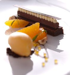 French Laundry dessert, San Francisco. Michelin Guide @ http://www.moderngentlemanmagazine.com/michelin-guide-from-past-to-present/