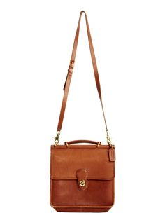 Coach Willis Leather Bag   Nifty Thrifty
