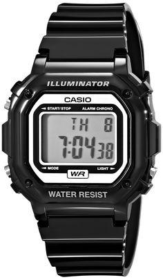 Casio Kids F-108WHC-1ACF Classic Digital Display Quartz Black Watch