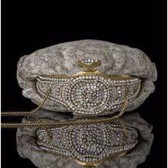 Ornate evening purse Loewe 1941
