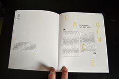 Rapport de stage - Internship report by Antoine Mauron, via Behance
