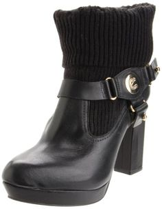 Madison Harding Women's Grace Boot,Black,5 M US This shoes / sandals / boots style name or model number is Grace. Color: Black. Material: Leather. Measurements: Shaft measures 4.5, Circumference measures 9 and 5 heel. Width: M.  #MadisonHarding #Shoes