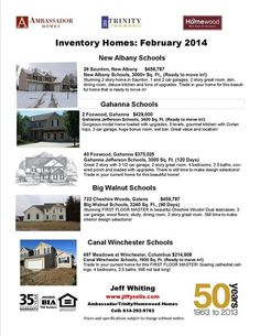 Jeff Whiting: Available New Homes