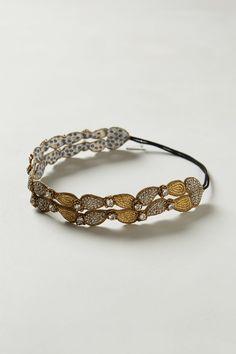 Metallic Deco Headband - Anthropologie.com
