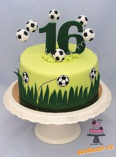 Cupcakes fondant futbol soccer ball cake 36 Ideas for 2019 Fondant Cupcakes, Cupcake Cakes, Soccer Ball Cake, Soccer Cakes, Football Cakes, Football Soccer, Soccer Birthday Cakes, 16th Birthday, Rodjendanske Torte