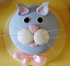 Cat Themed Party Birthday Cake kids birthday cake and party ideas cat theme