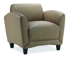 """Manhattan Club Chair SKU: 9881 $899.00 Overall Dimensions: 35""""W x 34""""D x 32""""H Overall Seat: 22""""W x 22""""D x 19-1/2""""H Upholstery/Colors: Black Top Grain Leather, Latte Top Grain Leather http://www.officesourcefurniture.com/products/display/reception_room-and-lounge/OfficeSource/Manhattan_Series/"""
