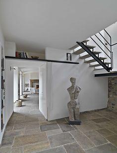 Pavimentazione in pietra di recupero per interni. #pietra #pavimenti #oldstone