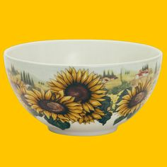 Bowl | Sunflowers