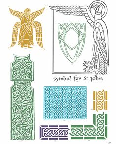 CELTIC VECTOR MOTIFS by: Alan Weller - Dover Publications FULL PAGE 2