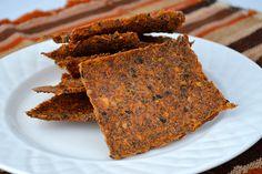 Raw Sun-Dried Tomato Crackers