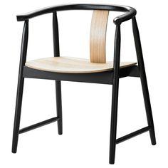 TRENDIG 2013 Armlehnstuhl - schwarz/naturfarben - IKEA