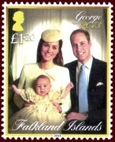 Issued of May Prince George's Christening Prince William Family, Prince William And Catherine, Uk Stamps, English Royal Family, Queen Kate, Princess Diana Pictures, Commemorative Stamps, Postage Stamp Art, Princess Elizabeth