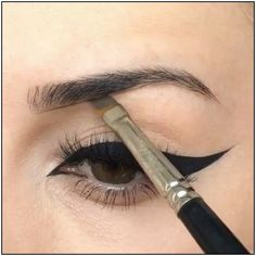 cool tips for beginners  how to do winged eyeliner