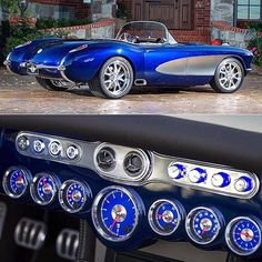 Awesome #Vette! Do you like these gauges?