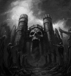 Skull castle