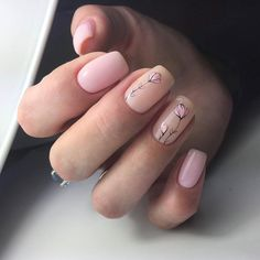Stylish Nail Designs for Nail art is another huge fashion trend besides the stylish hairstyle, clothes and elegant makeup for women. Nowadays, there are many ways to have beautiful nails with bright colors, different patterns and styles. Nail Art Cute, Cute Nails, Pretty Nails, Pink Nails, My Nails, Spring Nail Art, Best Nail Art Designs, Flower Nails, Stylish Nails