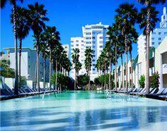 Miami has been on my to do list for far too long. Delano Hotel in Miami, FL South Beach Miami, Delano South Beach, South Beach Hotels, Miami Florida, South Florida, Miami Pool, South Usa, Florida Travel, Miami Art Deco
