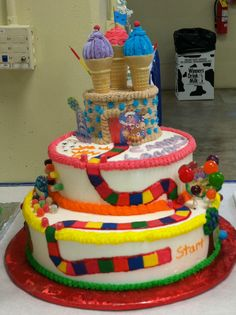 110 Best 4H Cake decorating images   Birthday cakes, Pound Cake