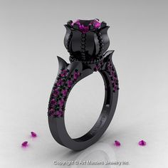 Hey, I found this really awesome Etsy listing at https://www.etsy.com/listing/169166997/classic-14k-black-gold-10-ct-amethyst