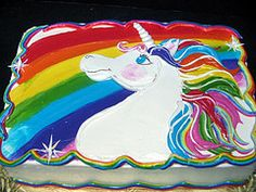 unicorn sheet cakes - Google Search                                                                                                                                                     More
