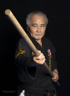 Seiyu Nakamura, 10th Dan Okinawa Dentou Shidokan Karate and Kobujutsu at his dojo in Kochinda, Okina by Chris Willson on 500px