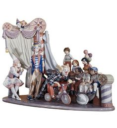 "01001758 CIRCUS TIME Issue Year: 1992 Retirement Year: 2013 Sculptor: Antonio Ramos Size: 23¼x28¾ "" Base included Limited Edition 2500 pieces"