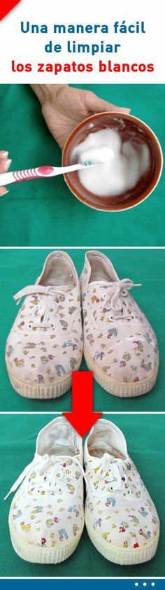 Do you know an easy way to clean white shoes so they look like new? How To Clean White Shoes, Diy Birthday, Home Hacks, Clean House, Tricks, Cleaning Hacks, Keep It Cleaner, Dyi, Household Tips