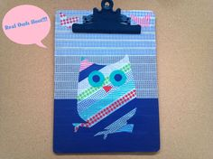 Washi-Tape Clipboard Makeover