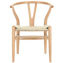 C24 Wishbone Chair in Natural 552-NAT by LexMod