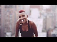 This is Naomi Wachira singing about her experience as an African Girl in the US. Fantastic!