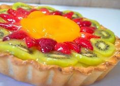 Healthy food is the way for a healthy lifestyle check the healthy recipes and start making it it's very easy to make and so yummy Pastry And Bakery, Pastry Cake, Mini Cakes, Cupcake Cakes, Cupcakes, Cake Decorated With Fruit, Jello Recipes, Sweet Pie, Cookie Desserts