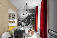 'Siéntete como en casa' - Mini otthon a Szövetség utcában   Reklektik - Lakberendezés, belsőépítészet, interior design